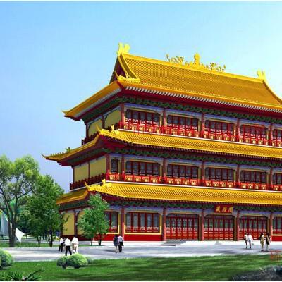 山东古建筑工程公司一级施工 勘察设计甲级承揽各类园林古建筑