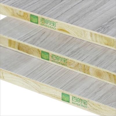 百的宝健康板材杉木芯18mm生态板衣柜家具板材美国橡木