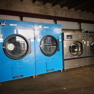 天津二手布草烘干机,水洗厂专用节能快烘150公斤