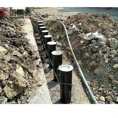 武汉钢精灵升降路桩 批发路桩 预埋式可移动路桩