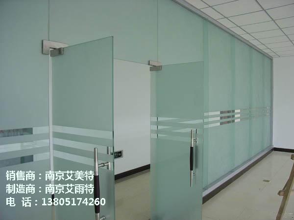南京玻璃门安装定制