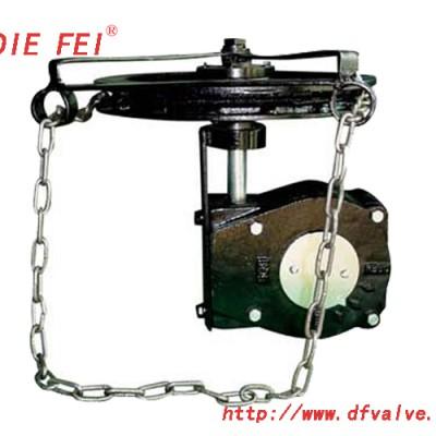 蝶阀链轮装置