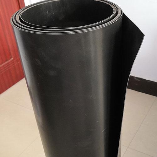 厂家直销黑色光面防水土工膜 HDPE土工膜 鱼塘防渗土工膜