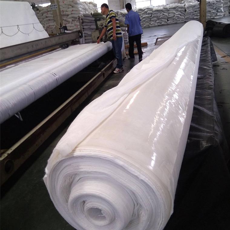 蓄水池防渗复合土工膜 长丝复合膜 两布一膜防渗土工布