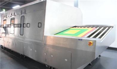 油墨丝印网板喷淋清洗机 全自动清洗油墨网板 合明科技