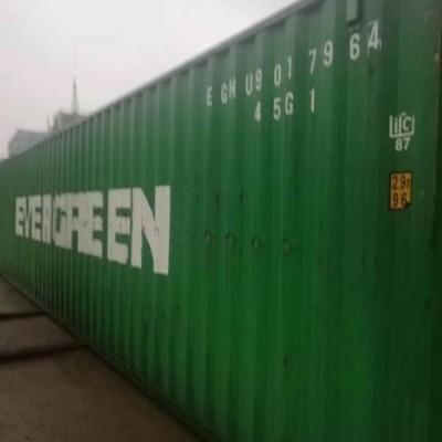 广州到烟台内贸海运自备柜运输走烟台班列运输去中亚