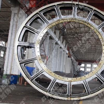 齿轮铸造厂家专业生产铸钢大齿轮