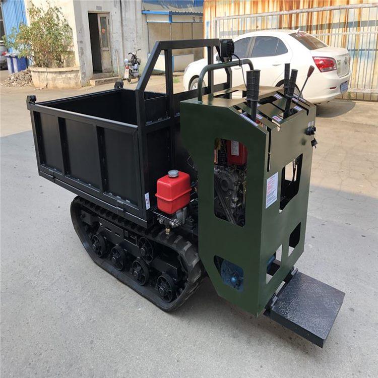 供应全新小型履带车农用自行走运输车1T手扶履带车