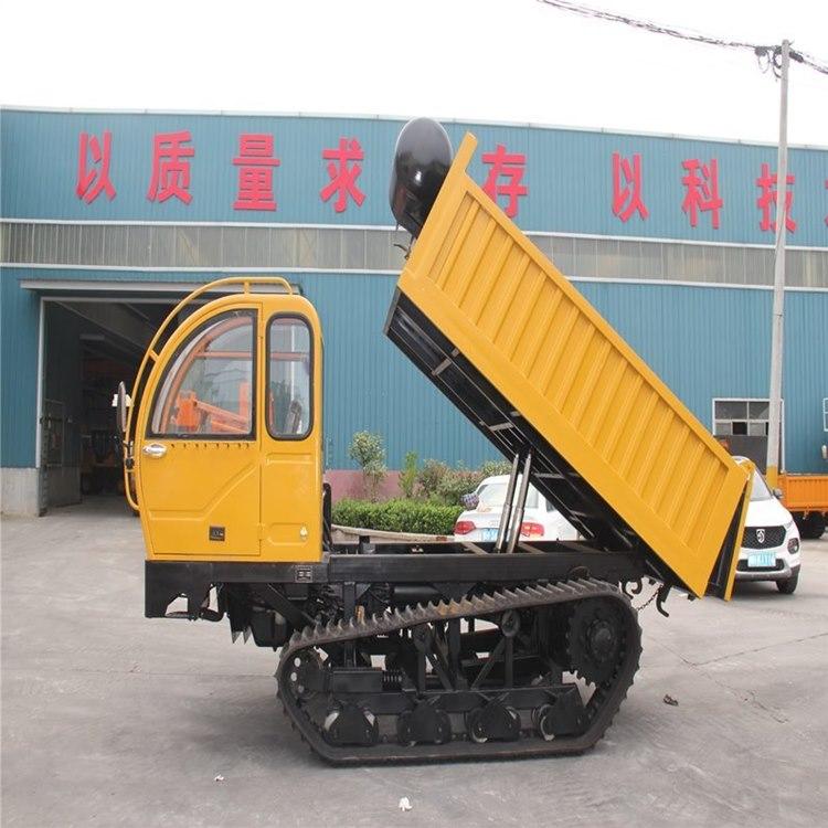 现货供应全新履带车8T座驾式爬山王履带运输车