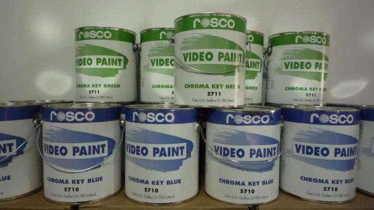 ROSCO标清影视抠像漆美国进口