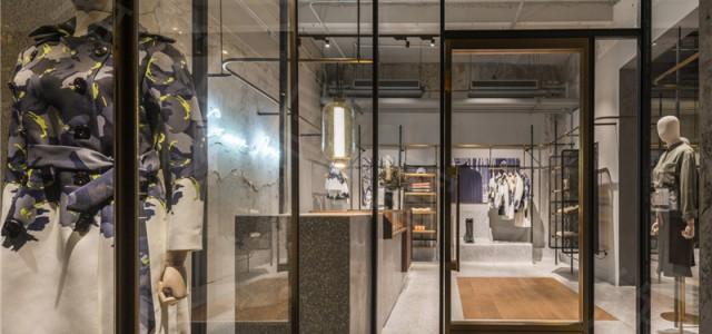 杭州市湖滨450平方米服装店设计公司-浙江国富装饰