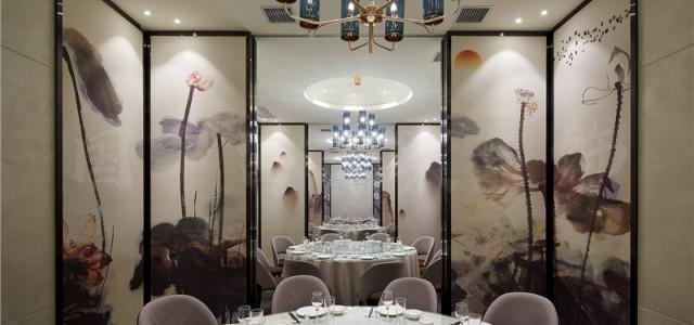 杭州市清波350平方米饭店设计公司-浙江国富装饰