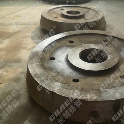 回转窑挡轮加工厂家 长期供应铸钢挡轮 机械性能稳定