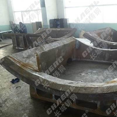 湖南煤磨机厂家 生产粉碎座体门框 煤磨机配件