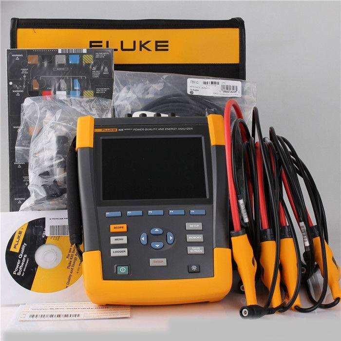 现金回收FLUKE435电能质量分析仪
