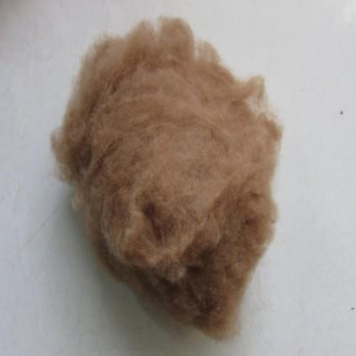 现货销售细致驼绒原料 丝光驼绒 免费拿样包邮