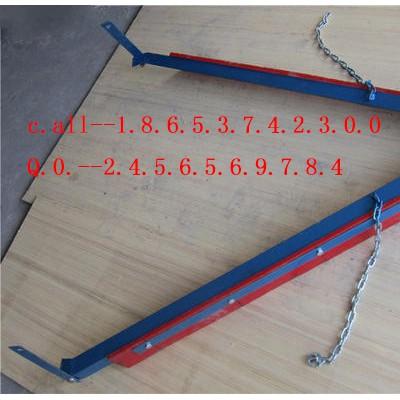 输送带尾部聚氨酯O型空段清扫器人字形刮料器