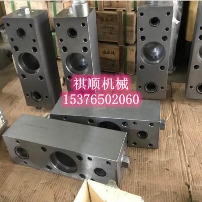 浙江中煤BRW125泵头组件单泵体