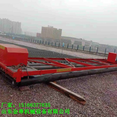 公路定制款摊铺机三轴四轴混凝土整平机加绞龙的两滚轴铺平机