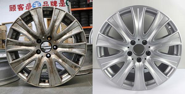 上海轮毂修复_轮毂刮花了怎么修复