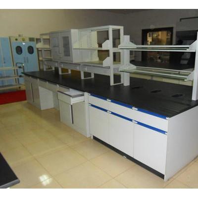 实验室工作台插座水槽台全钢木实验台