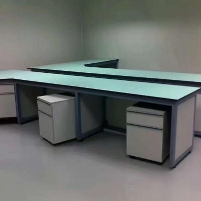厂家批发中央台试剂架实验室设备钢木实验台操作台