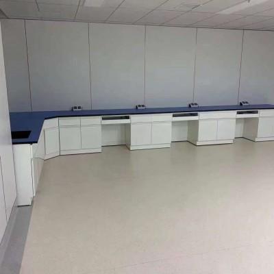 厂家批发钢木实验台边台 研究院检测试桌试剂架实验台