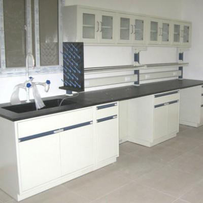 钢木实验台试验台操作台试剂架边台全钢实验室化验室工作台