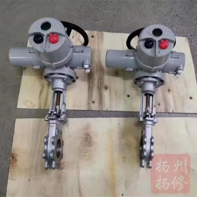 刀型闸阀电动执行器/多回转电动头厂家