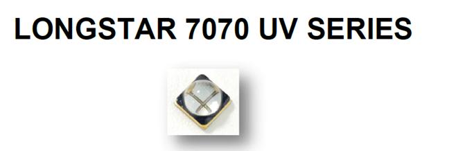 405nm 7070大功率固化紫外UVALED灯珠