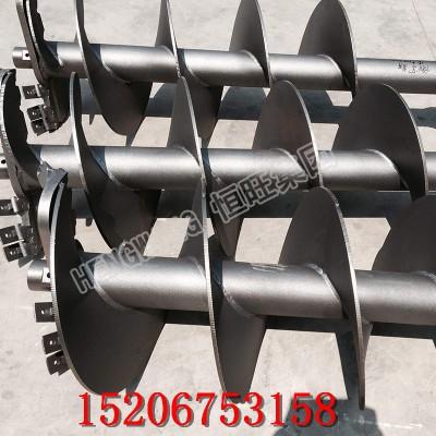 挖改打桩机 小挖机改装螺旋打桩机