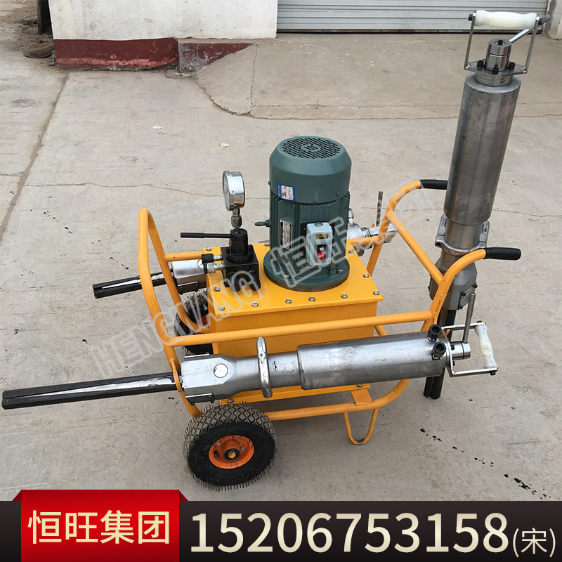 柴油劈裂机 小型岩石劈裂器 劈裂机厂家 劈裂机型号齐全