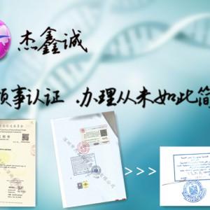 埃及领事馆认证董事会决议/注册证书