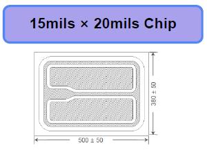 15*20milUVB UVC杀菌芯片-PW进口