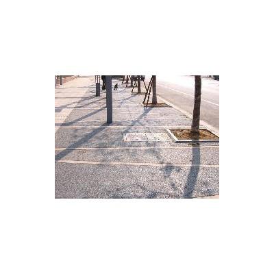 湖北彩色透水混凝土路面铺装