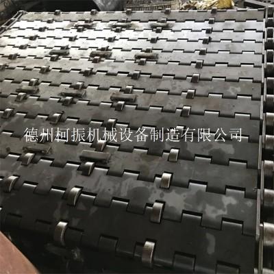 批量制造双节距大滚子链板 不锈钢重型链板输送带