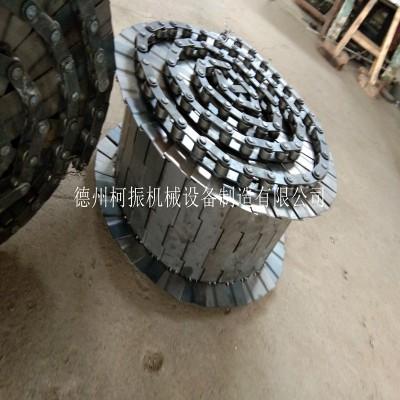 批量制造摊青机链板 加厚工业炉用重型链板